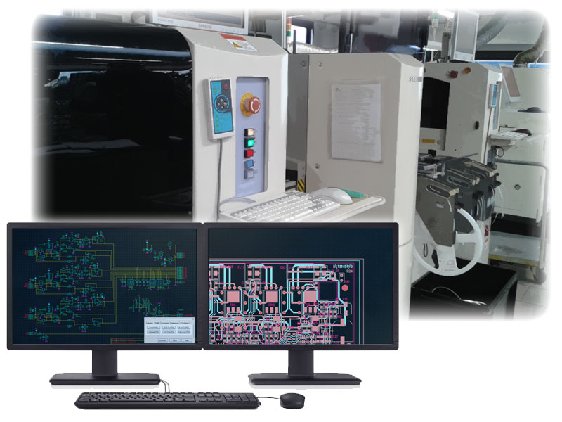 Automatic SMT machines for PCB assembly and SMD components